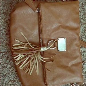 Nine West cross body tassel bag